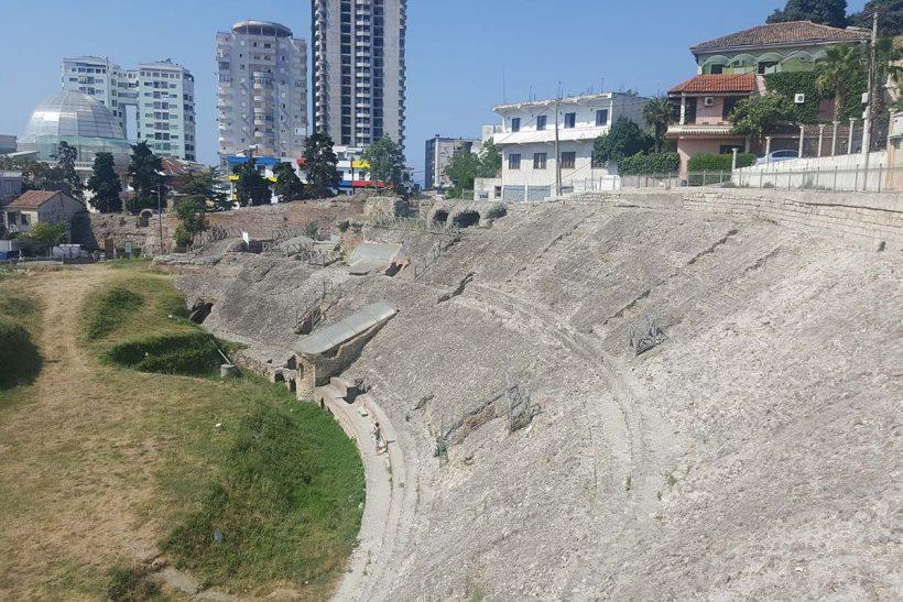 Roman amphitheater Durres