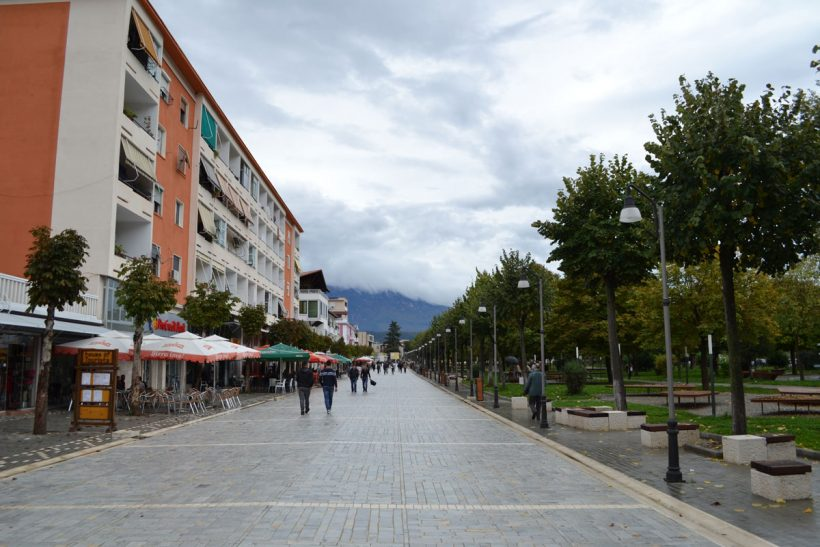 Berat city center