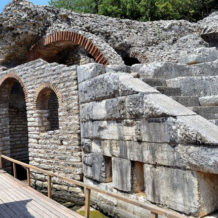 butrint archaeological site saranda