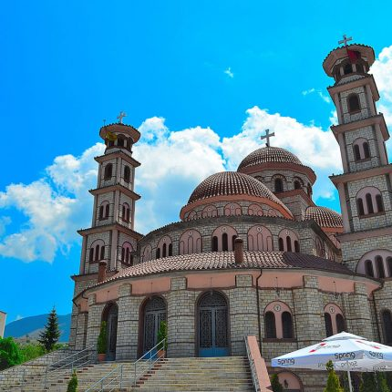 Korca big cathedral