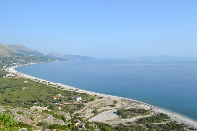 Albanian rivera beaches