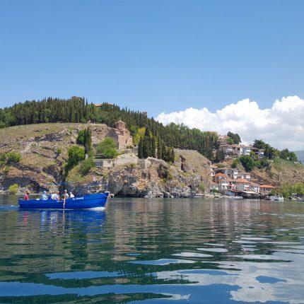 boat trip ohrid lake