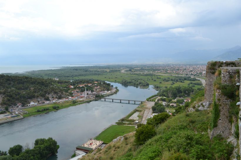 View from Rozafa castle
