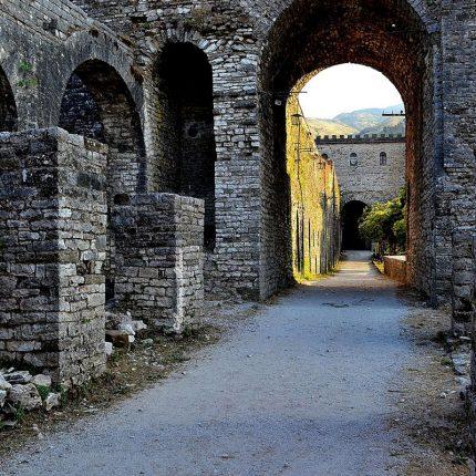 inside the gjirokastra castle