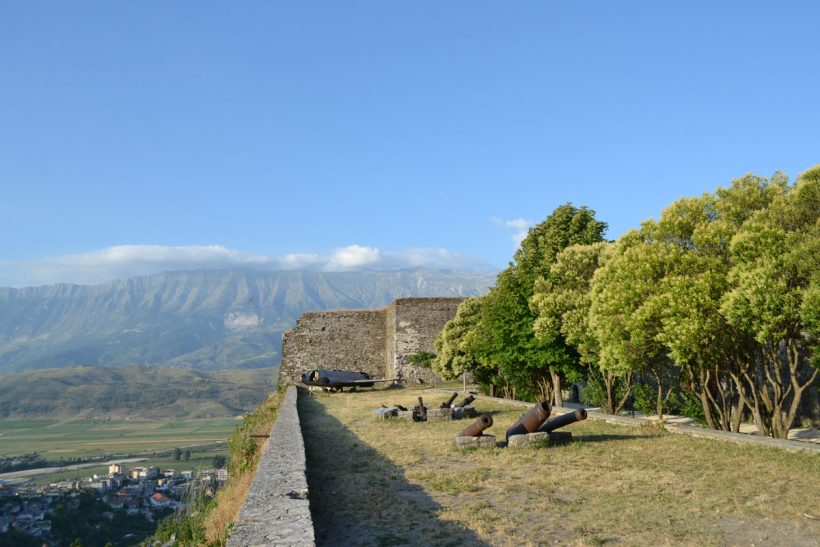 view point gjirokastra castle