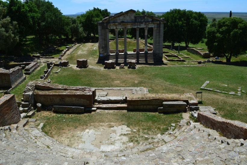 Apolonia archeological site