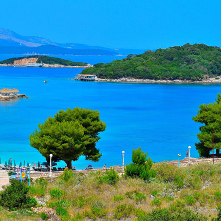 islands ksamil saranda