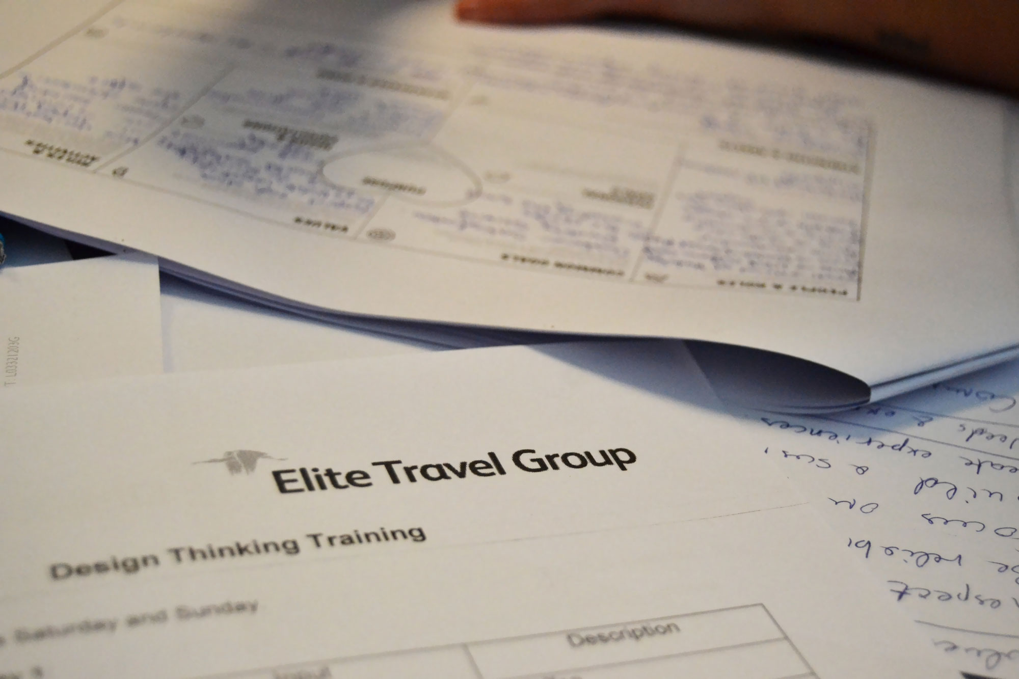 Elite Travel Group documents