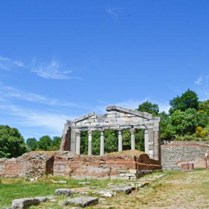apollonia amphitheatre old