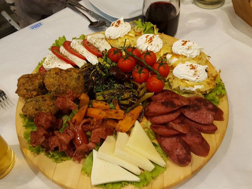 Delicios food Gjirokaster Cajupi restaurant 3