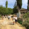 Egnatia people walking