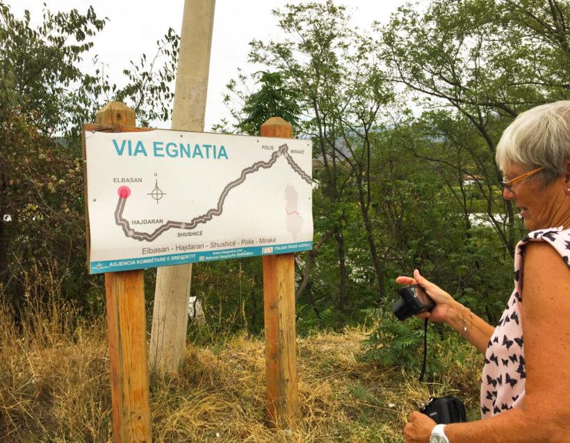 Egnatia street map