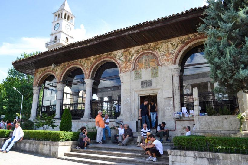 Tirana center mosque