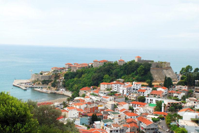 ulcinj montenegro view panorama