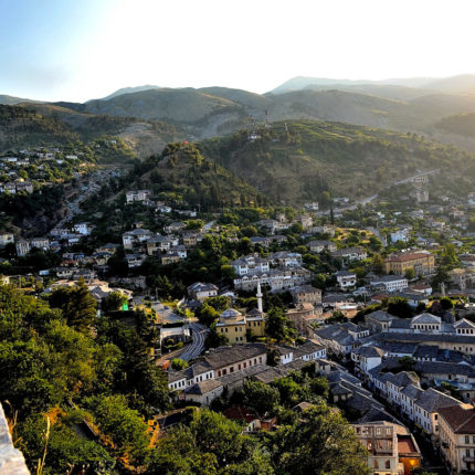 gjirokaster view albania