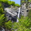 north albania waterfall