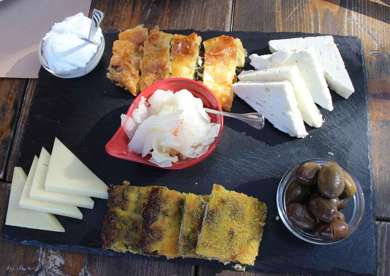 food albania