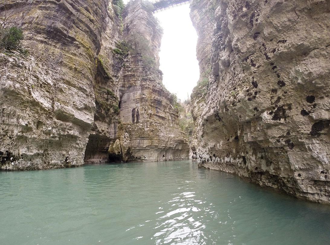 Osum Canyons Albania