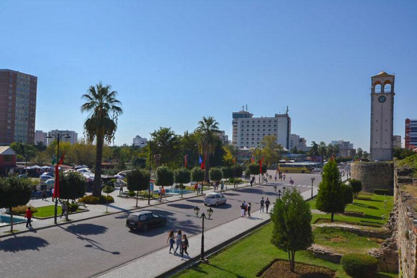 Elbasan main boulevard