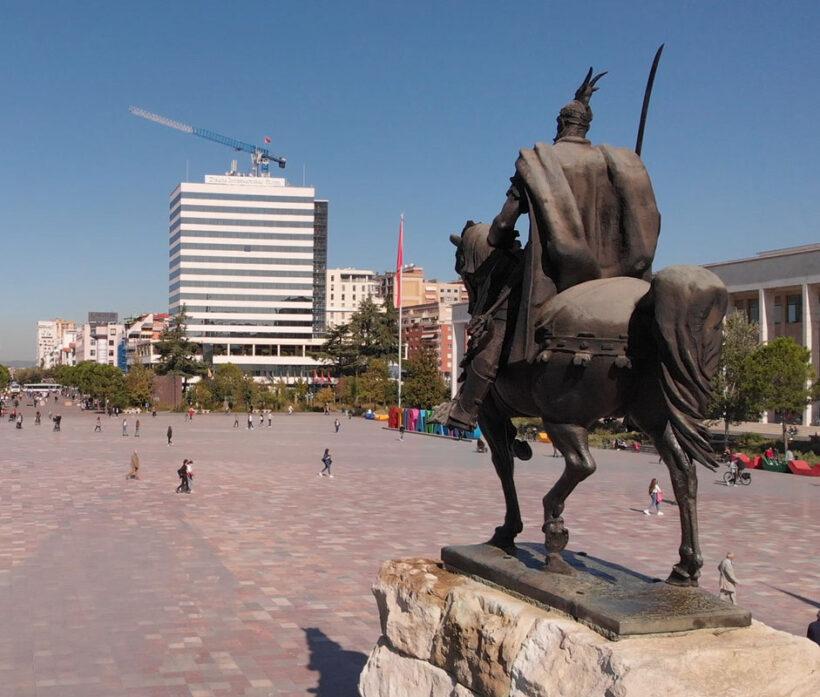 Skanderbeg-Square-Tirana main square